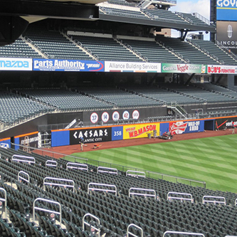 Field, Staging Concepts Improves Citi Field Sports Stadium