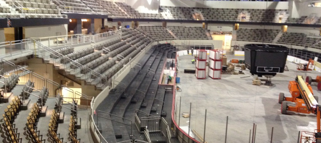 Indiana Farmers Coliseum/Formerly Pepsi Coliseum In Progress 2