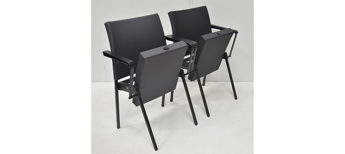 Series Seating-Vinyl Chairs-Isometric View